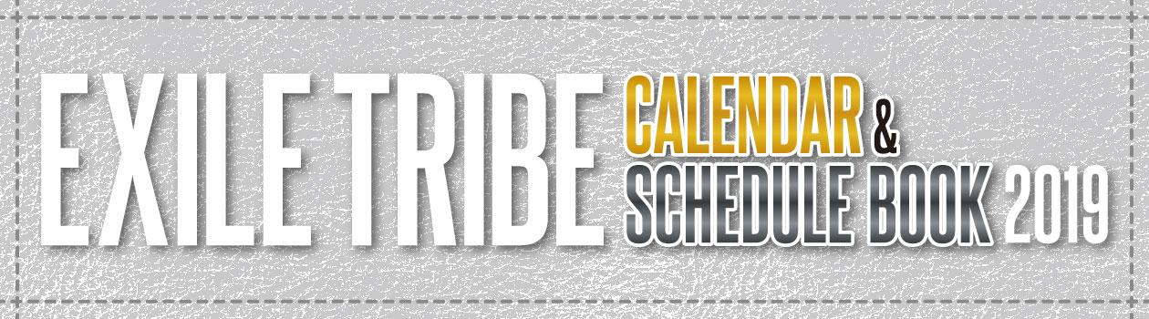 2019 Calendar & Schedule Book