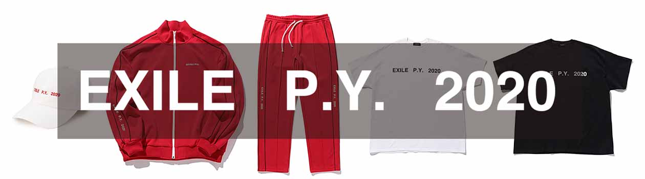 EXILE PERFECT LIVE 2001▶2020 OFFICIAL LIVE SUPPORT WEAR COLLECTION