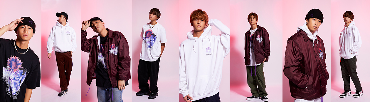 FANTASTICS SOUND DRAMA 2019 FANTASTIC NINE OFFICIAL LIVE SUPPORT WEAR COLLECTION