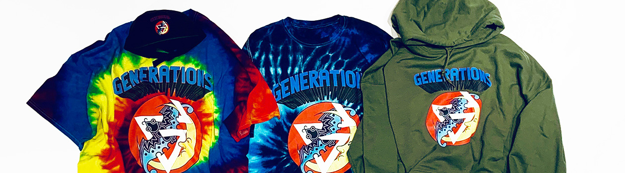 "GENERATIONS LIVE TOUR 2019 ""Shonen Chronicle"" OFFICIAL LIVE SUPPORT WEAR COLLECTION"