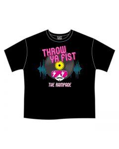 THROW YA FIST BIG T-shirt / one size