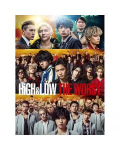 HiGH&LOW THE WORST DVD Normal Edition