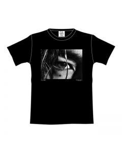 FULL MOON Photo T-shirt BLACK
