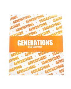 Izakaya EXILE Sticker Folder GENERATIONS