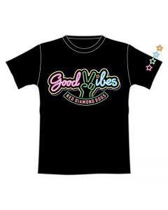GOOD VIBES T-shirt BLACK