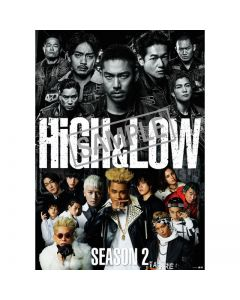 HiGH&LOW SEASON2 Complete BOX 4DVD