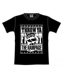 THROW YA FIST Tour T-shirt/BLACK