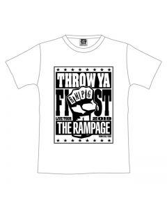 THROW YA FIST Tour T-shirt/WHITE