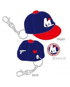MAKOTO HASEGAWA produce  MAKOTO's favorite CAP and pin badge