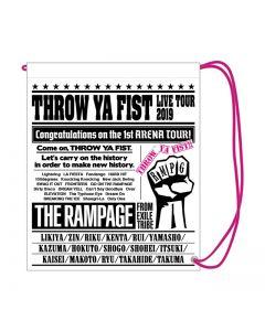 THROW YA FIST Vinyl bag