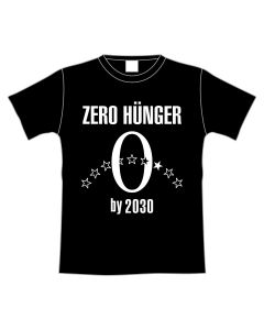 EXILE USA Produce ZERO HUNGER T-shirt BLACK