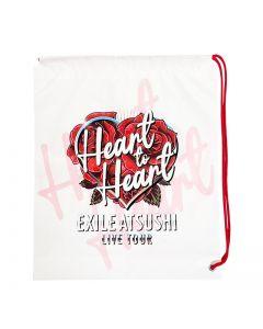 Heart to Heart vinyl bag