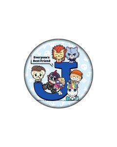 JSB3 tin badge