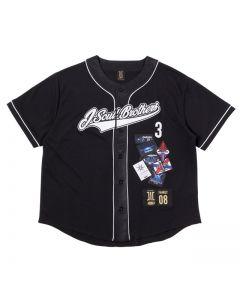 ELLY produce 10th anniversary J.S.B. Baseball shirt