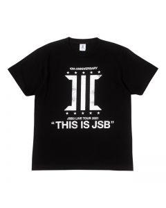 THIS IS JSB Tour T-shirt  BACK