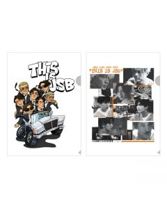 THIS IS JSB Clear File 2 Sheets Set