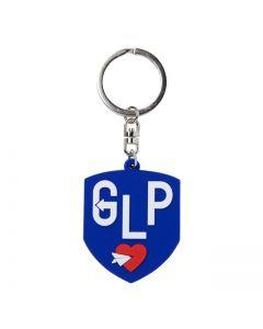 LOVE POST rubber key chain