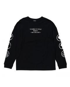 REBOOT long sleeve T-shirt BLACK