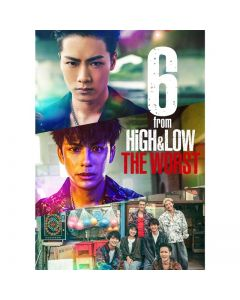 6 from HiGH & LOW THE WORST 2 DVD normal version