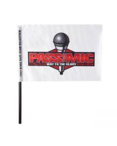 PASS THE MIC flag